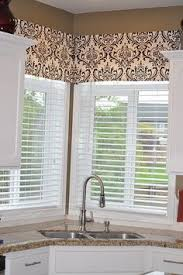 valance ideas for kitchen windows the pioneer s linens winter window and pioneer