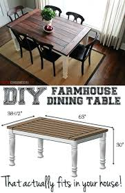 Dining Room Table Plans With Leaves How To Build Dining Table U2013 Thelt Co