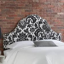 Upholstered White Headboard by Furniture Fiorenza Upholstered Nail Button Headboard Wayfair