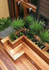 Wood Bench Designs Decks by How To Build Benches On A Deck Click On An Image To See A Larger