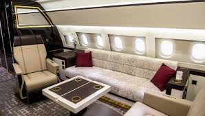 Private Plane Bedroom Airbus Corporate Jet Centre Acj319 U2013 Robb Report