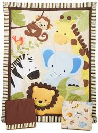 Mini Crib Bedding For Boy by Jungle Themed Baby Bedding Home Decorating Inspiration