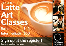 make up classes in boston ogawa coffee on our beginner latte seminar will be