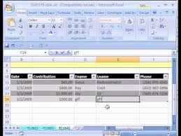 excel magic trick 184 setup database in excel youtube