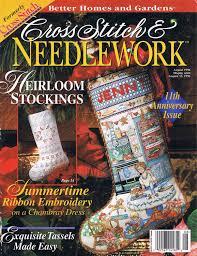 cross stitch magazine lot cross stitch u0026 needlework craft