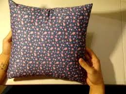 How To Make Sofa Pillow Covers How To Make An Envelope Pillow Cover Youtube