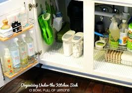 the kitchen sink cabinet organization sink storage ideas to buy or diy bob vila