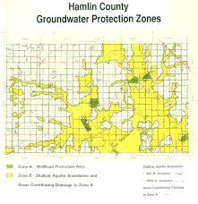 South Dakota County Map Groundwater Protection