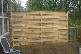 building a basket weave fence at the home depot gardening