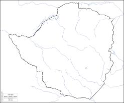 Zimbabwe Map Zimbabwe Free Map Free Blank Map Free Outline Map Free Base