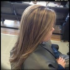 foil highlights for brown hair partial foil highlights for dark brown hair natural salon