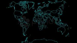 Flat World Map Hd Flat Of World Map Animating On By Country Hi Res 534181