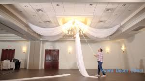 ceiling draping prefabricated ceiling drape kits