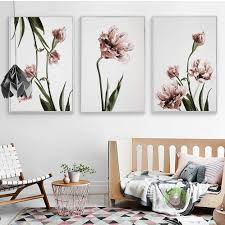 Nordic Home Decor Popular Tulip Poster Buy Cheap Tulip Poster Lots From China Tulip