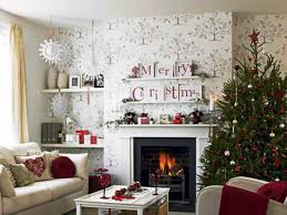 Beautifully Decorated Homes For Christmas Living Room 8 Neutral White Christmas Decoration Jewcafes