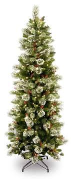 pre lit slim tree lights decoration
