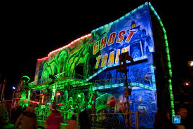 Halloween Ghost Train by Monster Brains 10 25 09 11 1 09