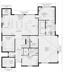 Home Floorplans by Best Modern Luxury Homebuilder Dallas Revolution Floorplan