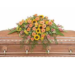 florist nc heaven s sunset casket spray in cary nc cary florist