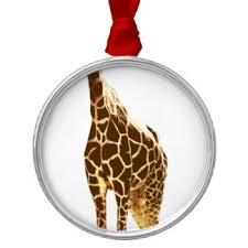 giraffe ornaments keepsake ornaments zazzle