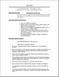 Narrative Resume Template Maintenance Manager Resume Format Click Here To Download This