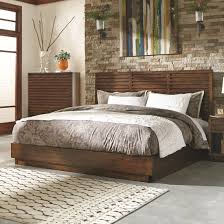 avery platform bedroom set in aged bourbon coaster avery platform bedroom set in aged bourbon