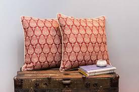 Ottoman Pillow Cushion by Ottoman Tulip Pomegranate U2014 Abbot U0026 Atlas