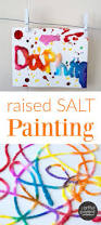 raised salt painting an all time favorite kids art activity