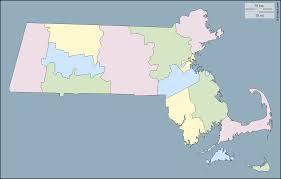 Map Of Massachusetts Counties by Massachusetts Free Map Free Blank Map Free Outline Map Free