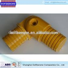 Fiberglass Handrail 50mm Diameter Frp Grp Fiberglass Handrail Flexible Elbow