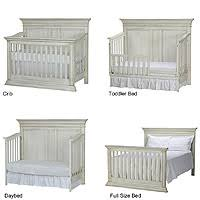Bed Crib Baby Cache Vienna 4 In 1 Convertible Crib Antique White Babies