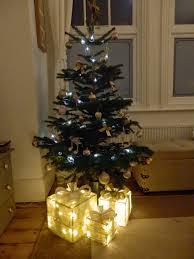 doyounoah christmas tree decor light up parcels