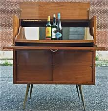 mid century bar cabinet small incredible mid century modern bar cabinet for liquor cabinets foter