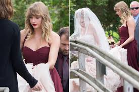 taylor swift comes out of hiding for friend u0027s wedding page six