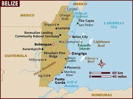map usa lonely planet map of belize