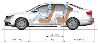 Car Dimensions In Feet by Interior Design Simple Vw Passat Interior Dimensions Decorations