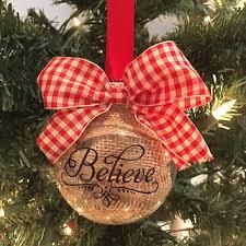best burlap ornament products on wanelo