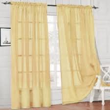 1 piece home sheer voile door window curtain panel drape more than