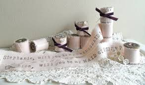will you be my bridesmaid ideas wedding ideas to say will you be my bridesmaid ribbon