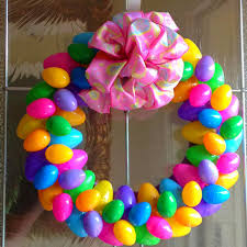how to make an easter egg wreath easy easter egg wreath dollar stores easy and 50th