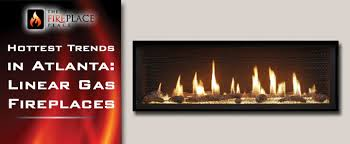 fireplace trends hottest trends in atlanta modern contemporary linear gas