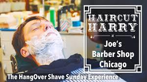 haircut harry u0027s hangover shave sunday experience at joe u0027s barber
