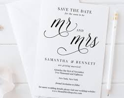 save the date template printable save the date template wedding save the date cards