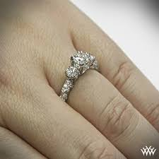 3 engagement ring 3 chagne diamond engagement ring 4679