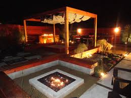 Modern Solar Lights Outdoor by Eye Catcher Patio Landscape With Modern Outdoor Fireplace Gas
