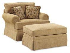 Living Room Chair With Ottoman Now Where Can I Find It Image Of Overstuffed Chair And Ottoman