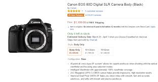 black friday amazon 2016 canon camera canon eos 80d in stock u0026 shipping camera rumors