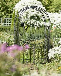 essex garden arch with gate gardeners com