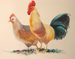 perfect rooster chicken hen 8 8600