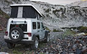 camping jeep wrangler ursa minor jeep wrangler first drive truck trend